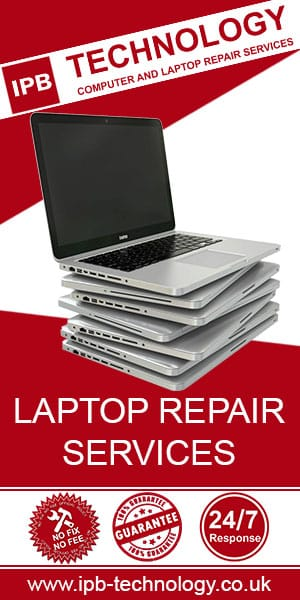 IPB Technology laptop repair