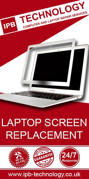 IPB Technology laptop screen replacement