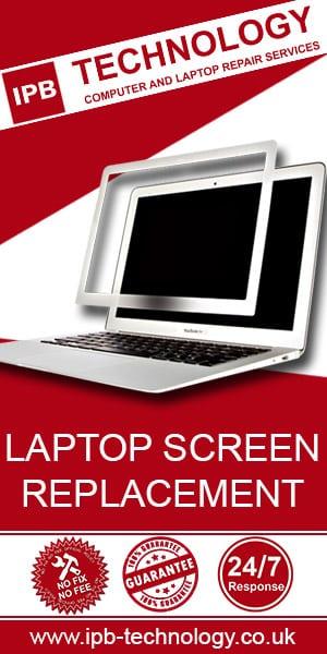 IPB Technology laptop screen replacement