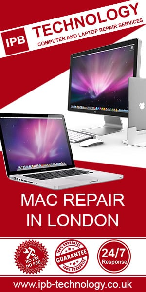 IPB Technology Mac repairs in London