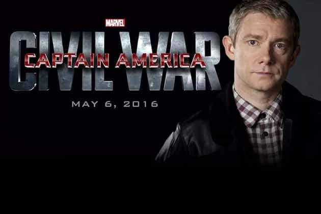 Marting Freeman on Captain America 3