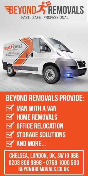 Beyond Removals man with a van