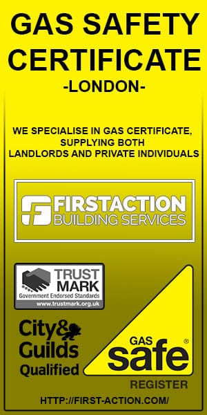 First Action gas certificate